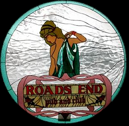 Beautiful Round Front Stained Glass Window Panel For The Roads End Pub   West  Hazleton, ... Amazing Ideas